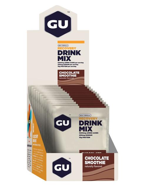 GU Energy Recovery Drink Mix Box Schokolade 12 x 50g